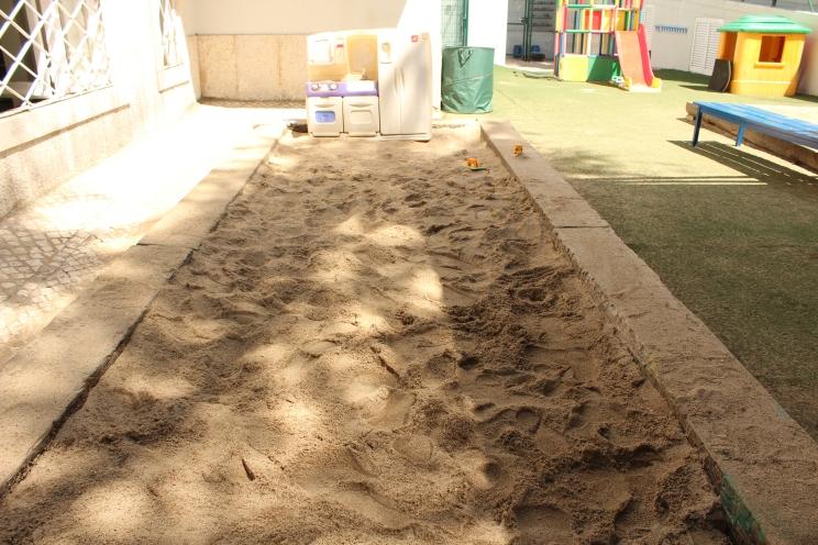 Caixa de Areia da Infantil